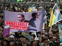 'Death to America and Israel' Chants Fill the Streets During Iran's Revolution Celebration