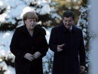 Angela Merkel, Ahmet Davutoglu
