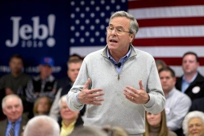 Jeb Bush Lectures Donald Trump for 'Shouting Out Obscenities in Front of Children'