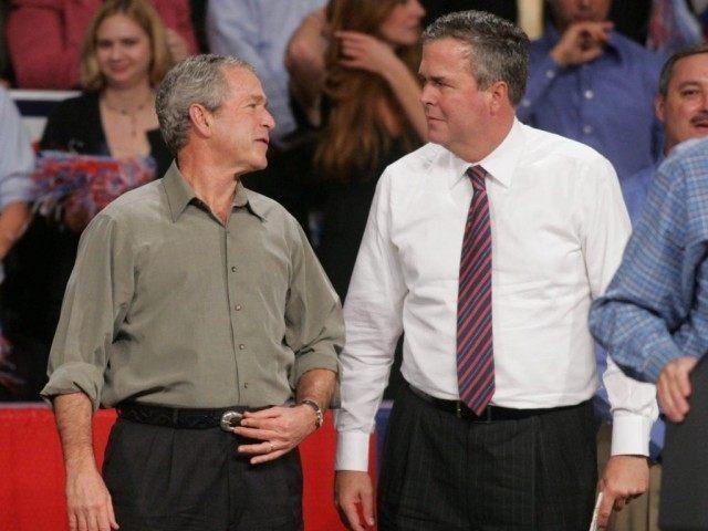Jeb Bush, George W. Bush