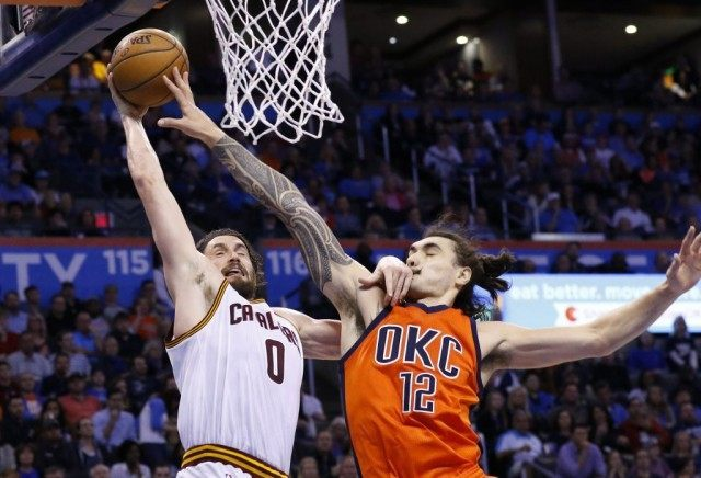 Kevin Love, Steven Adams