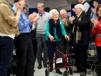 Thanks Mom: Barbara Bush Packs The House For Jeb