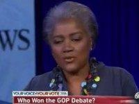 Donna Brazile: 'Chris Christie Prosecuted Marco Rubio' at the Debate