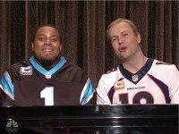 'Peyton Manning' and 'Cam Newton' Sing 'Ebony and Ivory' on 'SNL'