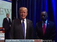 Carson Causes Awkward Debate Opening