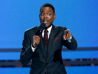 Host Chris Rock speaks during the 2014 BET Awards in Los Angeles, California June 29, 2014. REUTERS/Mario Anzuoni