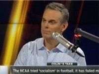 Cowherd: Socialism Doesn't Work — Look at College Football