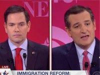 Watch: Cruz, Rubio Fight Over Immigration