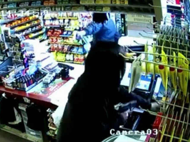 Female Clerk Pulls Gun on Alleged Robber
