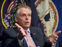 National Governors Association (NGA) Vice Chair, Virginia Gov. Terry McAuliffe speaks at the National Press Club in Washington, Thursday, Jan. 7, 2016. (AP Photo/Susan Walsh)