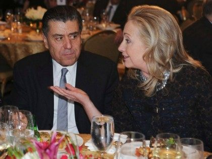 Hillary Collects Hollywood Cash at Haim Saban's Beverly Hills Mansion