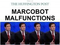 Huffington Post: 'Marcobot Malfunctions' at GOP Debate