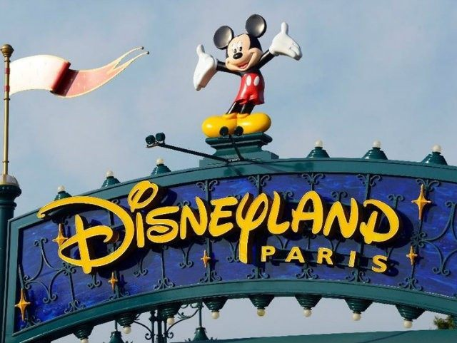 Disneyland Paris has seen visitor numbers fall by eight percent …