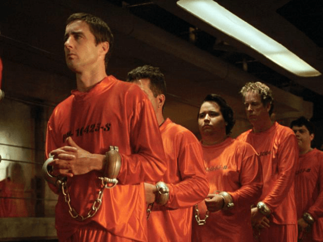 Idiocracy (2006) Pers: Luke Wilson Dir: Mike Judge Ref: IDI014AG Photo Credit: [ 20th Century Fox / The Kobal Collection ] Editorial use only related to cinema, television and personalities. Not for cover use, advertising or fictional works without specific prior agreement