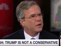 Jeb: 'This Is All A Game' for Trump