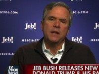 Jeb on Trump's Language: 'You Don't Want Kids Hearing This Stuff'