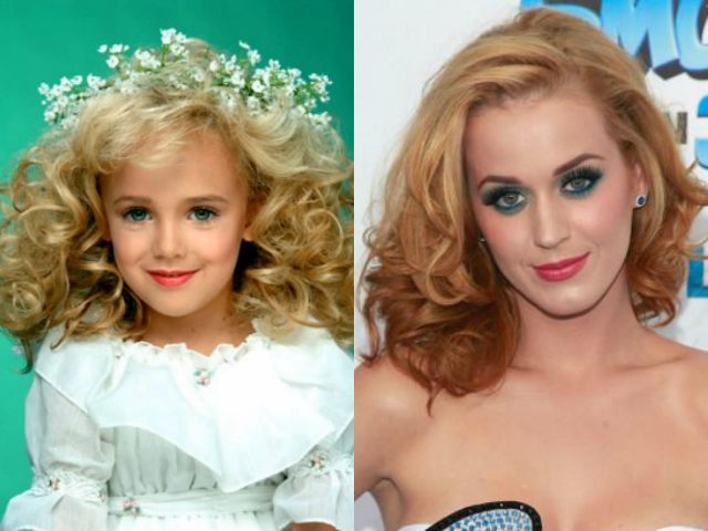 JonBenet Ramsey vs. blonde Katy Perry