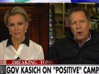 Kasich: Jeb Taking 'the Very Low Road to the Highest Office In The Land'