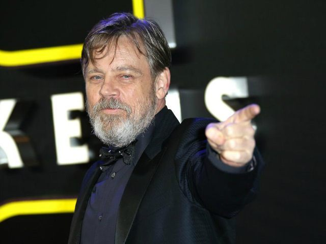 Mark Hamill poses for photographers upon arrival at the European premiere of the film 'Star Wars: The Force Awakens ' in London, Wednesday, Dec. 16, 2015. (Photo by Joel Ryan/Invision/AP)