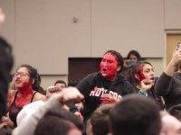 Fake Blood and War Chants: Milo Yiannopoulos Event at Rutgers Disrupted by Feminists, Black Lives Matter Activists