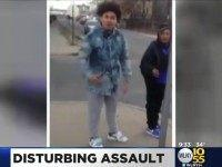 "Knockout Game: ""PATERSON, N.J. (CBSNewYork) — A video shared on social media has led to a criminal investigation in Paterson, New Jersey. As CBS2's Christine Sloan"""