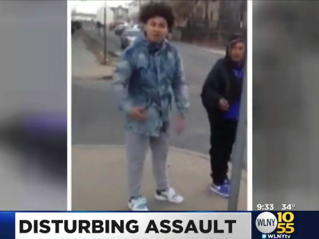 """Knockout Game: """"PATERSON, N.J. (CBSNewYork) — A video shared on social media has led to a criminal investigation in Paterson, New Jersey. As CBS2's Christine Sloan"""""""