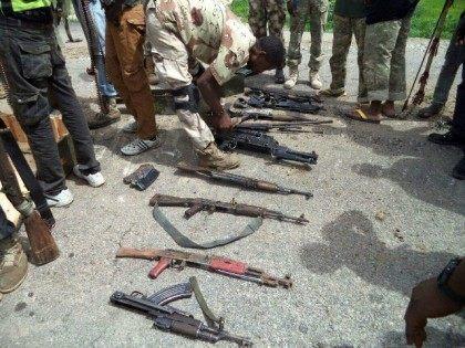 AFP PHOTO / HO / NIGERIAN ARMY