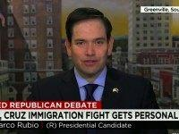 Rubio on Cruz Attacks: 'Disturbing' How Much He Lies
