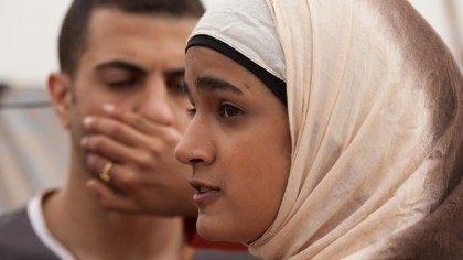Still from Israeli film Sand Storm