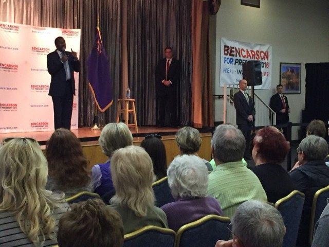 Ben Carson town hall (Joel Pollak / Breitbart News)