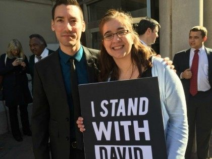 Video Maker David Daleiden Turns Himself In To Houston Law Enforcement Officials