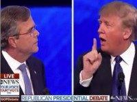 Debate Crowd Boos, Trump Hits Back: 'That's All Jeb's Donors and Special Interests'