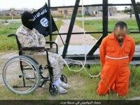 PHOTOS: Islamic State Wheelchair Executioner Crucifies 'Spies' in Libya