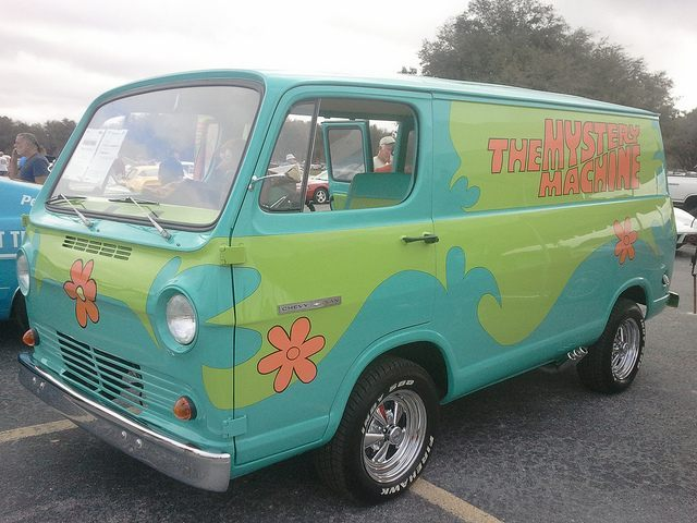 Scooby Doo Mystery Machine (amateur photography by... / Flickr / CC)