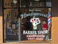 Hawleywood's barber shop (Newtown grafitti / Flickr / CC)