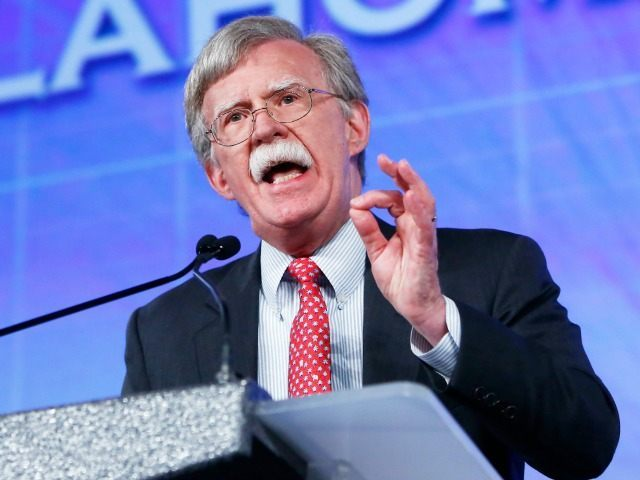 Former United Nations Ambassador John Bolton speaks at the Southern Republican Leadership Conference in Oklahoma City on Friday, May 22, 2015. (