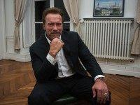 "Former U.S. California Gov. Arnold Schwarzenegger poses during an interview with The Associated Press at the Institute of Political Studies, known under the name of ""Sciences Po"", in Paris, France, Wednesday, Dec. 7, 2015. Schwarzenegger is in Paris as part of the COP21, the United Nations Climate Change conference. (AP …"