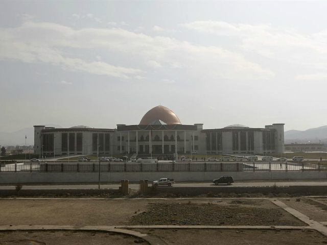 A general view of the new Afghan parliament building is seen in Kabul, Afghanistan, in this December 25, 2015 file photo. REUTERS/OMAR SOBHANI/FILES