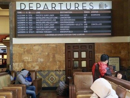 Amtrak Union Station (Nick Ut / Associated Press)