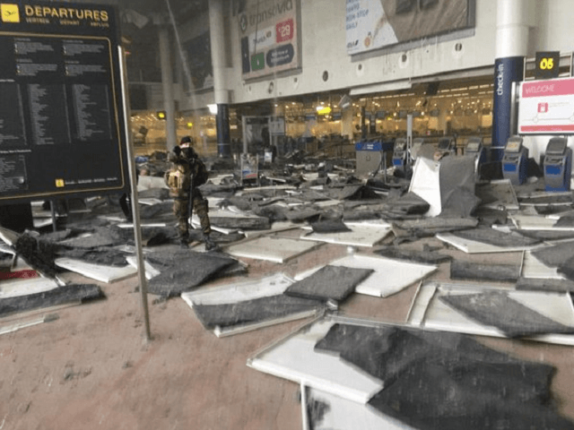 BRUSSELS AIRPORT BOMB 1