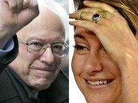 Bernie Sanders and Shailene Woodley