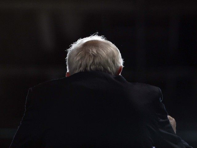 Bernie Sanders blocked in Arizona (Ricardo Arduengo / Associated Press)