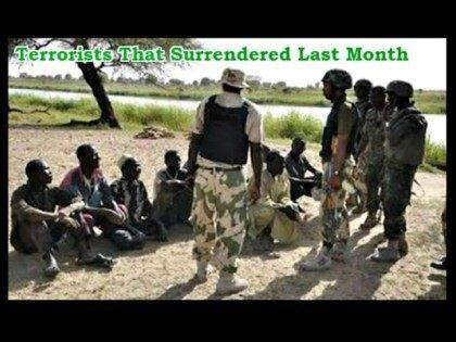 Boko Haram Terrorists Surrender