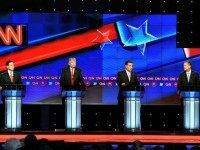 CNN R Debate Stage Rhona WiseGetty