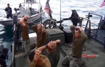 Iran's Revolutionary Guard to Build Statue of Abducted American Sailors