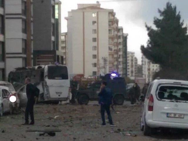 Explosion in Diyarbakir, Turkey 3/31/16