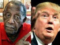 Charles Evers, Donald Trump AP Photos