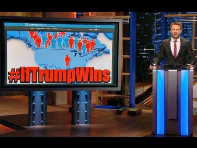 Chris Hardwick Tag the Bird #ifTrumpWins