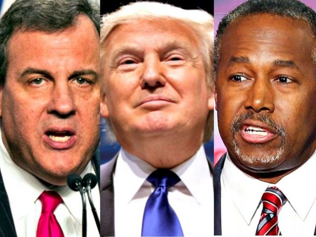 Christie, Trump, Carson abc news