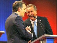 Kasich Works the Room in Indiana Despite Pact to Cede State to Cruz
